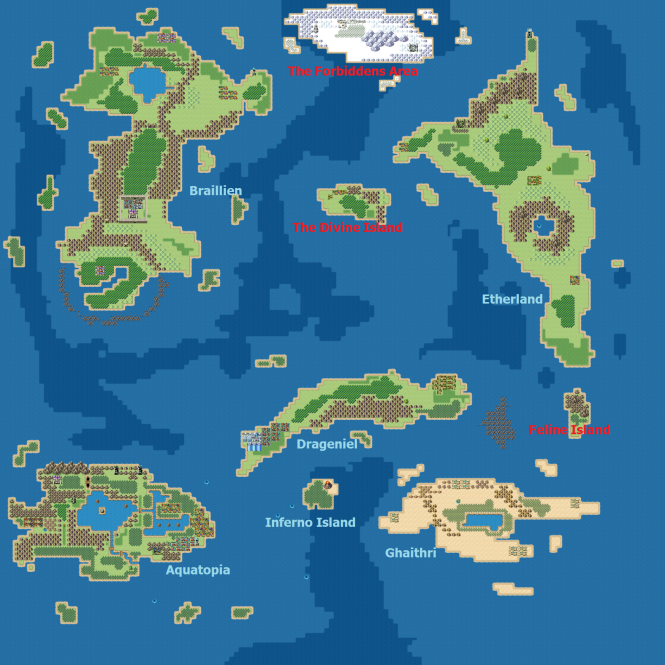 Warrion Map